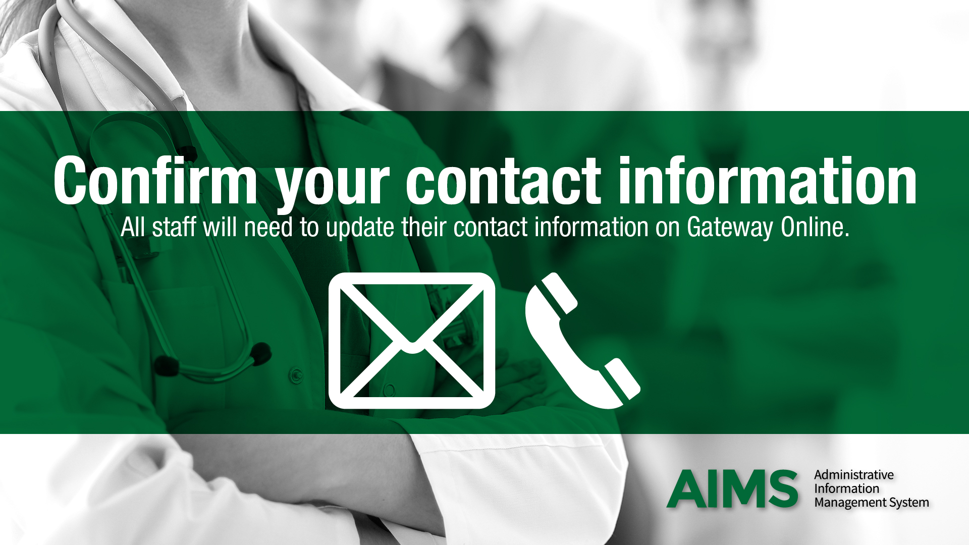 Confirm your contact information | aimsproject.ca