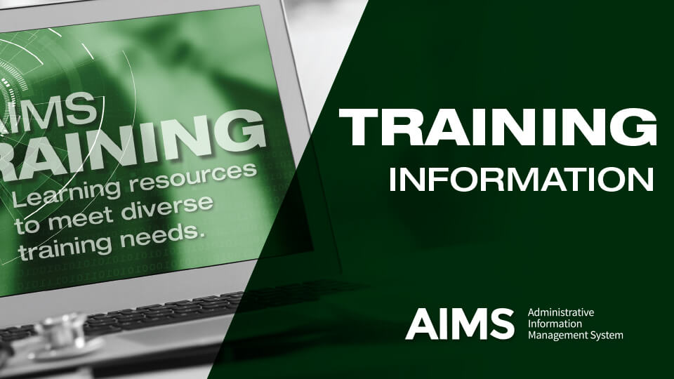 AIMS Training: COVID-19